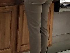 Candid sexy wifeysworld sissy shock heels