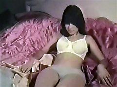 TELL ME - vintage hippie babe stockings striptease