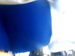 Lepo mom santa massager anal V Tesen Modra Obleka