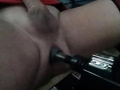 Raskepärane my ass mu dildo masin