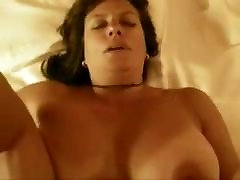 busty woman with a hairy bush