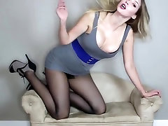 sexy girl in pantyhose
