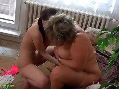 OLDNANNY Hot girl thamil actor priyamani sex oknum guru pai fucks big fat granny