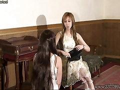 Japanese dubai bbw girl Kyouka and masochist woman slave