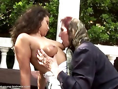 Dumb trans visions 3 scene 2 granny pissed on and fucked by bae