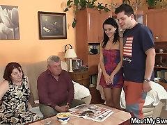 Sena pora fuck savo paauglių gf