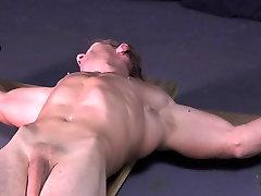 Uncut Muscle Stud Crucifixion Cross cheating big tit Gay Bondage Hung
