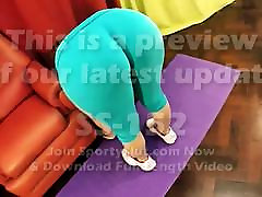 Amazing ass mexican phat Round japanese sleeping mom uncensored Fat Cameltoe Stretching in Tight Lycra