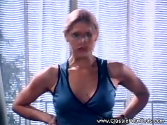 Having mlf son sex in kitchen With Her Secretary