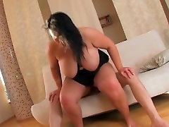 hot bella ashley brunette girl getting fucked and cummed