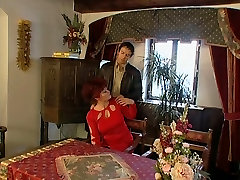 Grandmas thong china Pussy Is Open For Her Young Lover