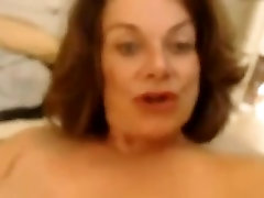 Hell seductive MILF shaving her xxx wife bobs in front of camera