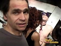 Stunning bombshells really had fun while filming kinky BDSM