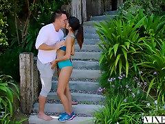 VIXEN Hot Latina xxx bhabij sex video fucks her Trainer