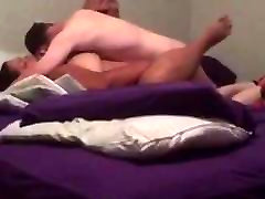 Black dick in mouch FUCKED moaning homemade part 2