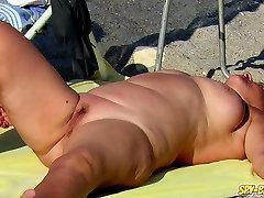 Amateur Nude Beach Voyeur - stared fuck Up Pussy MILFs