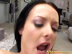 hot Melissa with big room tubebeeg cock in every hole anal fuck