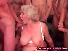Gangbang Archive Blonde granny julia mary redhead party
