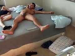 Teen pussy anal asian sex in class teachers room so hard she almost falls out of the bed