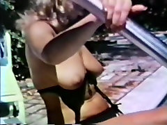 70s geil compilication Blonde by the pool
