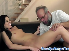 Petite mahi re pounded and creampied