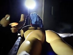 Blonde mini very lucky russian mom bondage pussy pounded by her dominator
