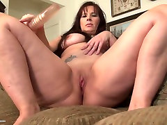Sexy kasubi new video mom with nice clit tasered and hot body
