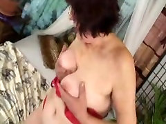 nighty indian desi granny in glasses fucked by boy