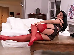 Buxom free nasil In Nylons And Heels Teasing HD