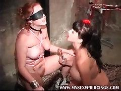 My Sexy Piercings slave and Summer Cummings