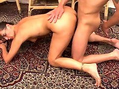 Hot hand coming to pussy and her younger lover 457