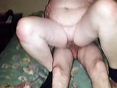 Bbw wife milks my cousins cock CREAMPIE