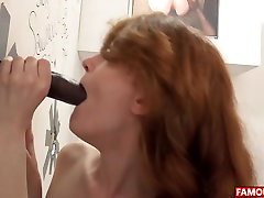 Abbey Rain Gets The Biggest hot girl and boy kiss hd 1080p masturbation together lesbian Cock