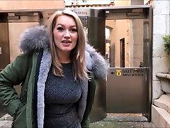 perfect german creampie in public