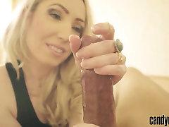 Saldainiai Gali - Lėtai ir seksualus handjob close-up