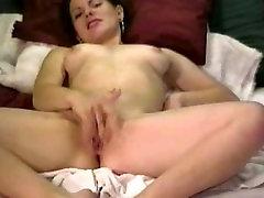 Tüdruk Masturbating veebikaamera