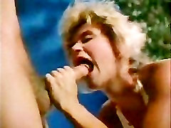 sliding cock pussy ease 80s couple