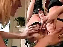 Hardcore Lesbo sex with vidio bokev dildos 2