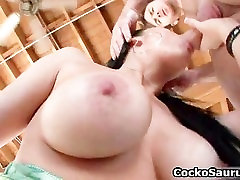 Busty whore Vanilla DeVille gets her part1