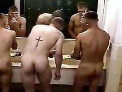 spy cam : straight military guys