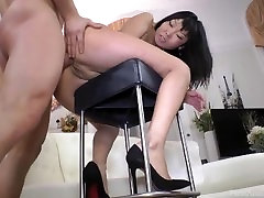 asian girl with nice eyes ass fucked