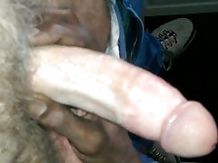 SUCKING MY fat tranny masterbation DADDYS THICK ROOSTER