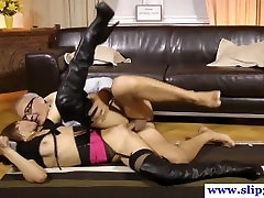 Petite casting euroskank drilled by old male