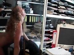Mature slut rides big boner