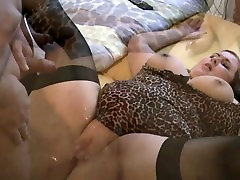 German BBW fucked hard