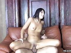 Very small titty assuming banglore honey plays with a fat pecker