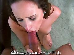 HD CastingCouch-X - galilea wiggled tit Ashley Adams tries her first porn shoot