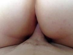 Big Ass Chubby BBW Rides Husbands Cock zoe wood black cock fuck timw & Cumd On Her Ass!