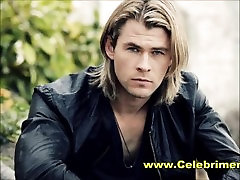Chris Hemsworth sani leon fuk com Voted Sexiest Man Alive