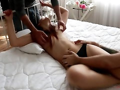 Evelina Topless tickle in four hands fuck my setpmom sle bondage